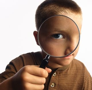 Boy-with-magnifying-glass