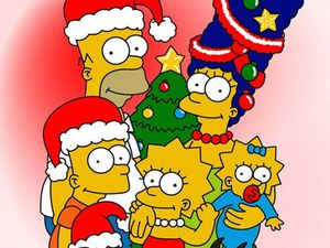 Homer_Simpson_Family_Christmas_freecomputerdesktopwallpaper_p